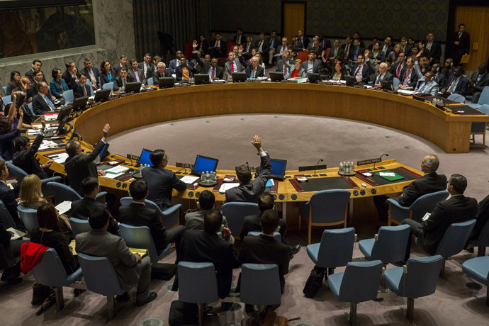 The United Nations Security Council (Reuters)