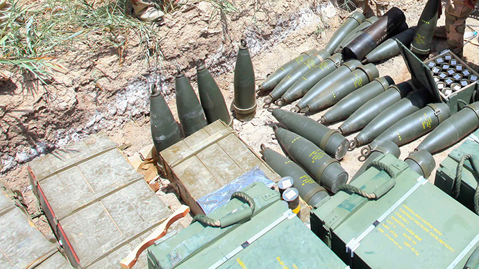 'The stolen materials in Iraq could be used for a dirty bomb'