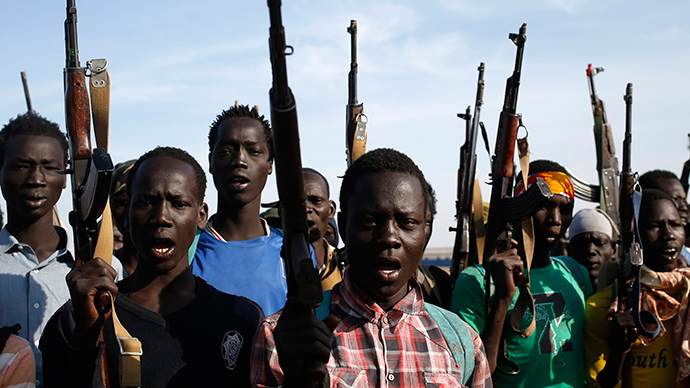 'Child soldiers are the worst, they have no plans and don't know about death'