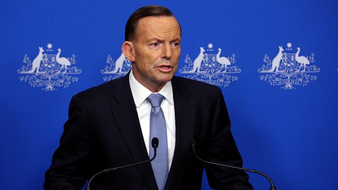 Australian Prime Minister Tony Abbott (AFP Photo / Josh Wilson)