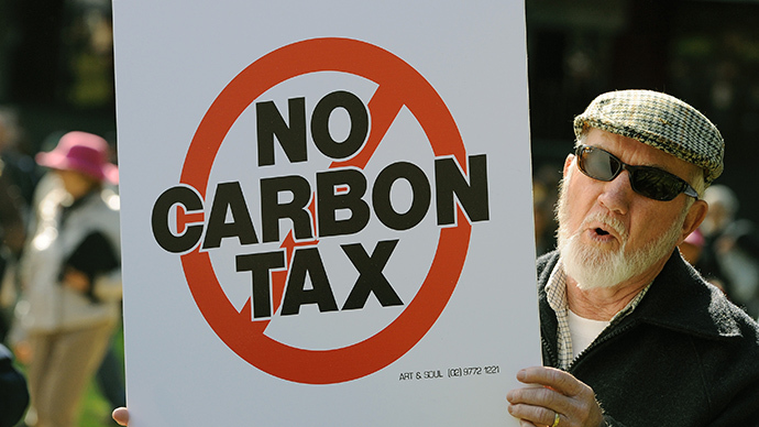 Australia repeals the carbon tax blob. For good?