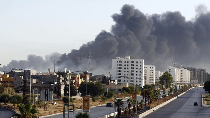 ​'Terrorist playground': United international efforts needed now to save Libya