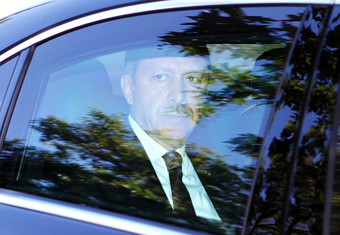 Turkish president-elect Recep Tayyip Erdogan (AFP Photo / Adem Altan)