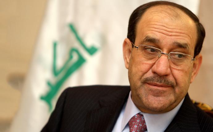 Iraqi prime minister Nuri al-Maliki (AFP Photo / Ahmad Al-Rubaye)