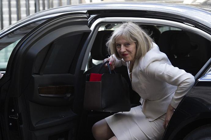British Home Secretary Theresa May (AFP Photo / Carl Court)