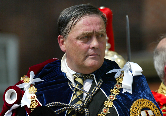 Britain's Duke of Westminster Gerald Cavendish Grosvenor (AFP Photo / Toby Melville)