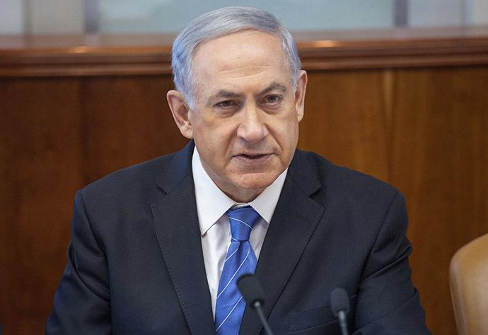 Israeli Prime Minister Benjamin Netanyahu (AFP Photo / Emil Salman)