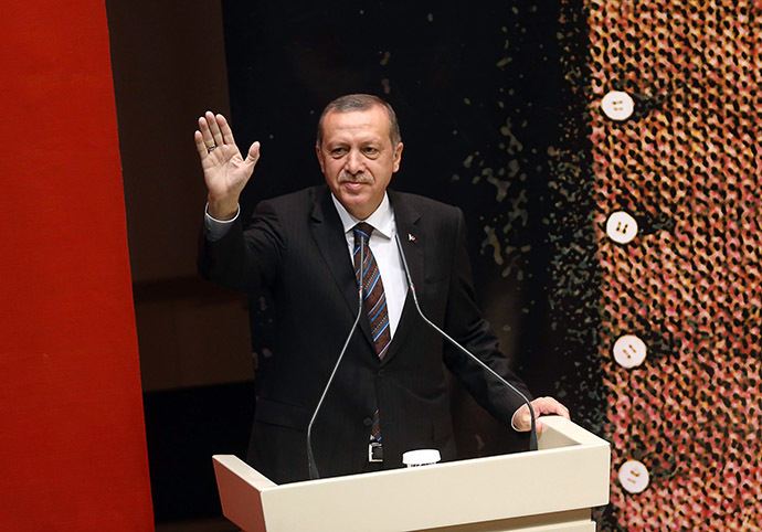 Turkey's Prime Minister Tayyip Erdogan (AFP Photo / Adem Altan)
