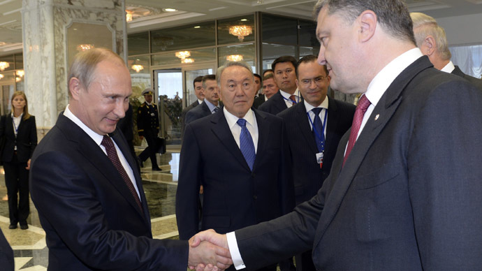 'Poroshenko wants to internationalize the situation and turn it into a conflict between Ukraine and Russia'