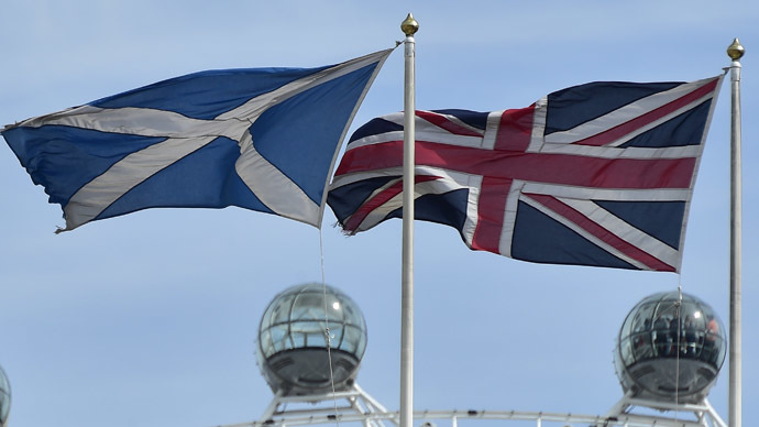 'Scottish independence would only replace one yoke with another'