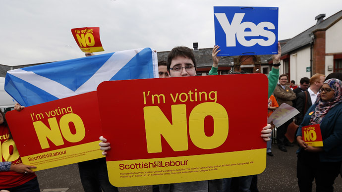Scottish independence: Turn off, tune in, drop out?
