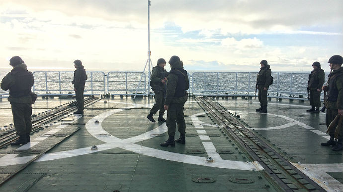 Day 3: How to avoid sea-sickness on a Navy ship