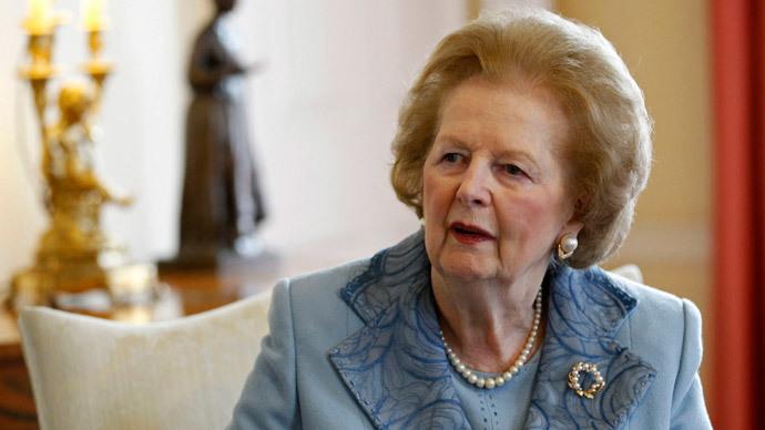 Margaret Thatcher.(AFP Photo / Suzanne Plunket)