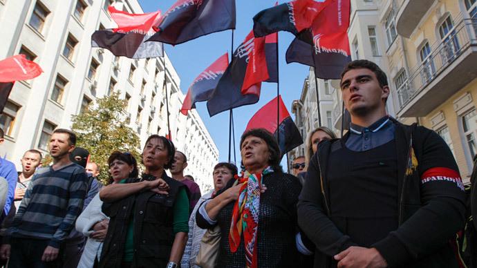 'Autonomy of E. Ukraine - anathema for Right Sector radicals'