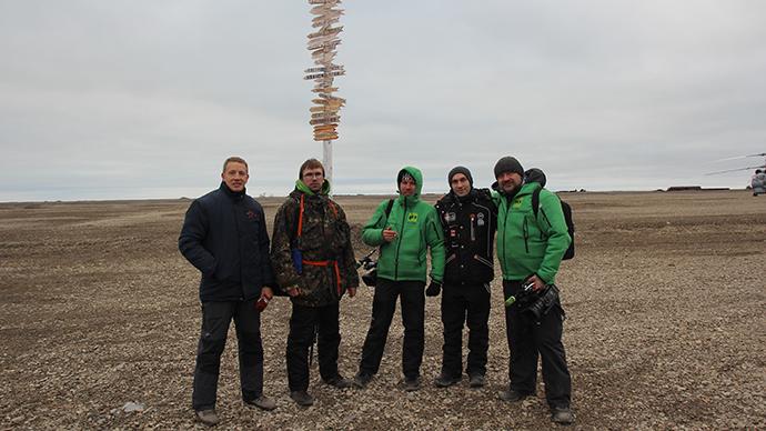 Day 10: Alien land of Kotelniy Island, our destination