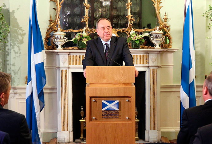 Scotland's First Minister Alex Salmond (Reuters / Scottish Government / Handout via Reuters)