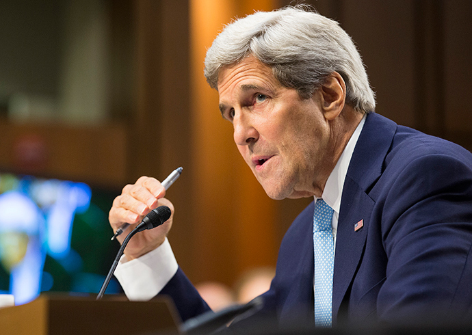 U.S. Secretary of State John Kerry (Reuters / Joshua Roberts)