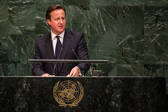 Britain's Prime Minister David Cameron (Andrew Burton / Getty Images North America / AFP)