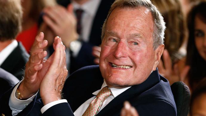 Former President George H. W. Bush.(Reuters / Kevin Lamarque)