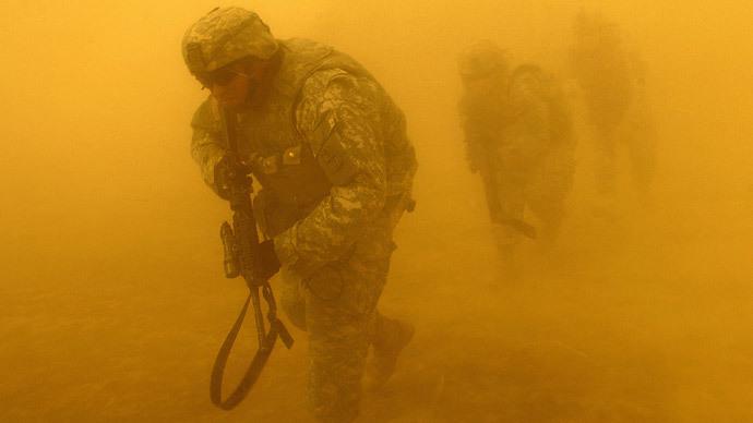 AFP Photo / Staff Sgt. Jacob N. Bailey