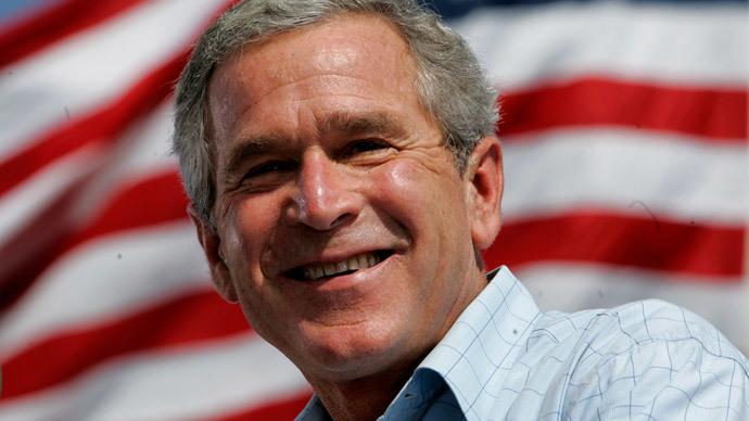 U.S. President George W. Bush.(Reuters / Kevin Lamarque)