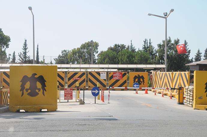 Entrance to Incirlik base near Adana (Photo by Andre Vltchek)
