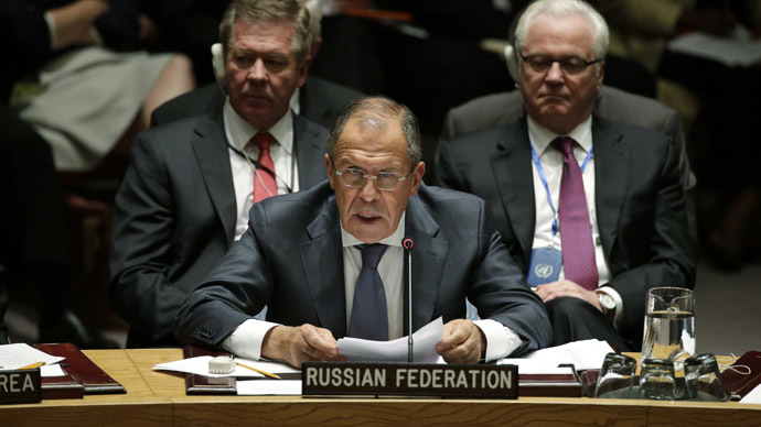 On Russia's agenda at 69th session of UN General Assembly