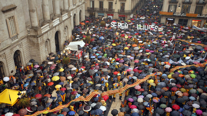 Struggle for independence: 'it's ridiculous' to ban Catalonian referendum