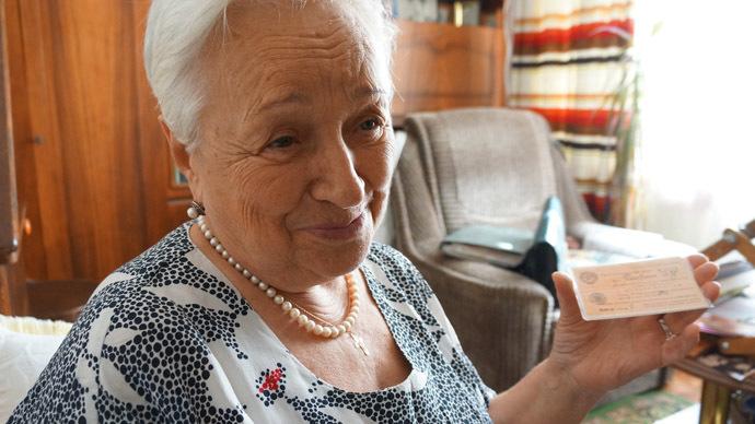 Russian wife of a Crimean Tatar hero