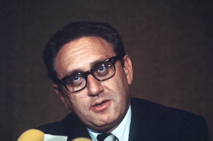 US National Security Advisor Henry Kissinger, 13 January 1973 (AFP Photo)