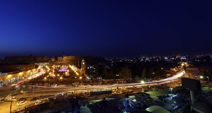 A view of the city of Arbil. (Reuters/Thaier Al-Sudani)