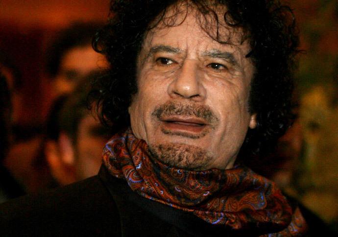 Muammar Gaddafi (AFP Photo / Jose Luis Roca)