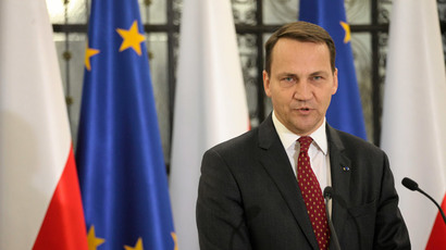 Radoslaw Sikorski.(Reuters / Slawomir Kaminski)