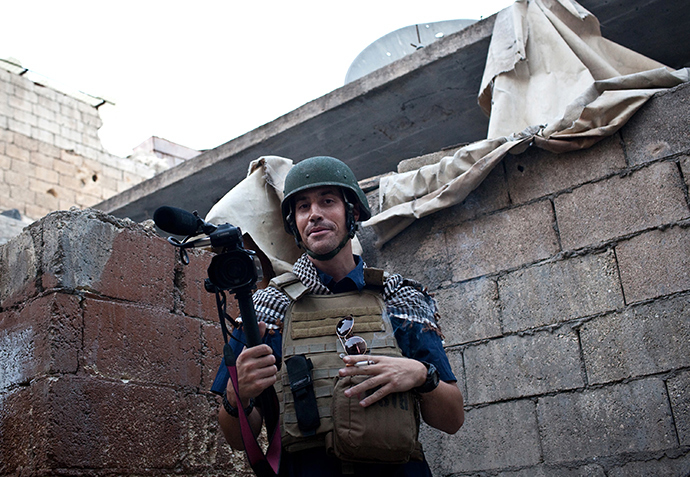 US freelance reporter James Foley (AFP Photo / Nicole Tung)