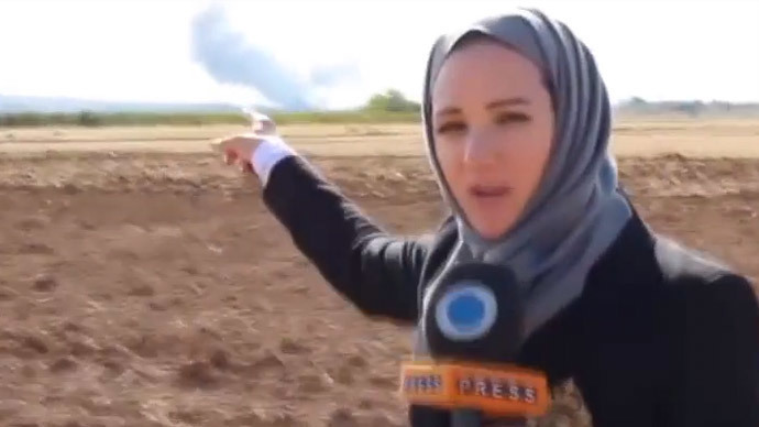 Serena Shim (Screenshot from youtube video by PressTV News Videos)