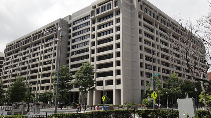The International Monetary Fund (IMF) headquarters building is seen in Washington (AFP Photo / Yuri Gripas)