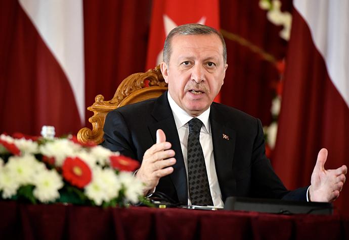 Turkish President Recep Tayyip Erdogan (AFP Photo)