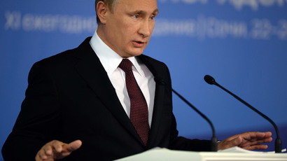 Putin's Valdai speech reflects Russia's 'strategic clarity, coherent policy'