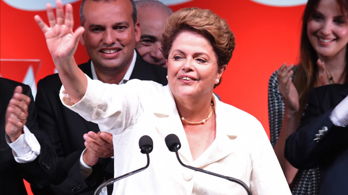 Re-elected Dilma wins in a Brazil broken in two