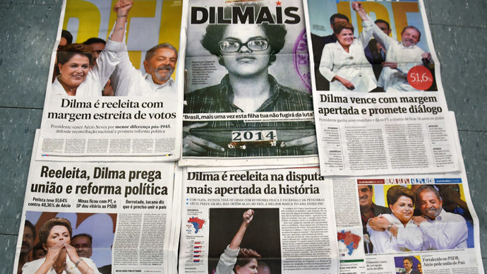 Rousseff  has 'a very weak mandate' after Brazil vote