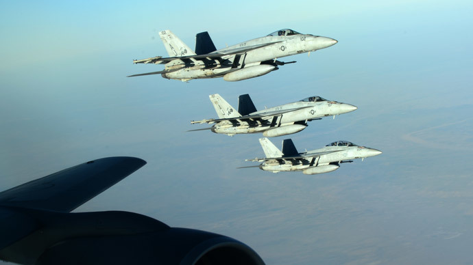 'US allies against ISIS are actually ISIS' main allies'
