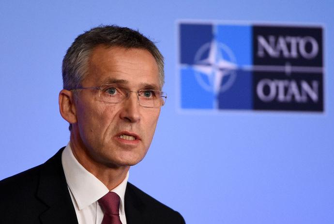 NATO Secretary General Jens Stoltenberg. (AFP Photo/Emmanuel Dunand)