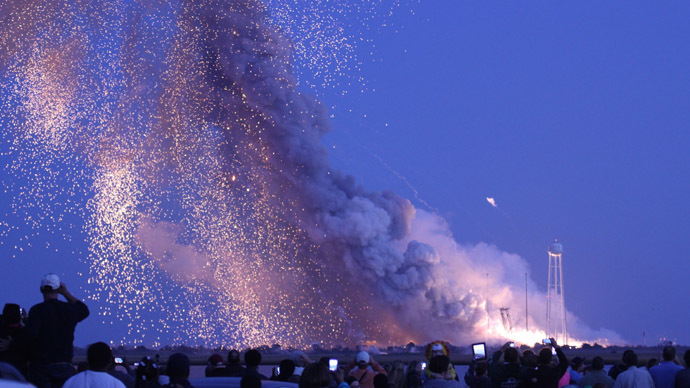 'Antares rocket's explosion is setback for science and private space companies'
