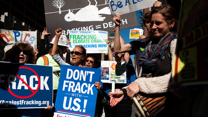 'US fracking extremely dangerous, poses cancer threat'