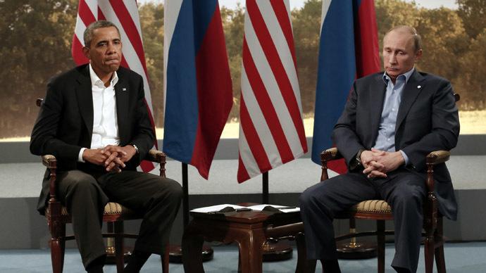 U.S. President Barack Obama (L) and Russian President Vladimir Putin (Reuters)