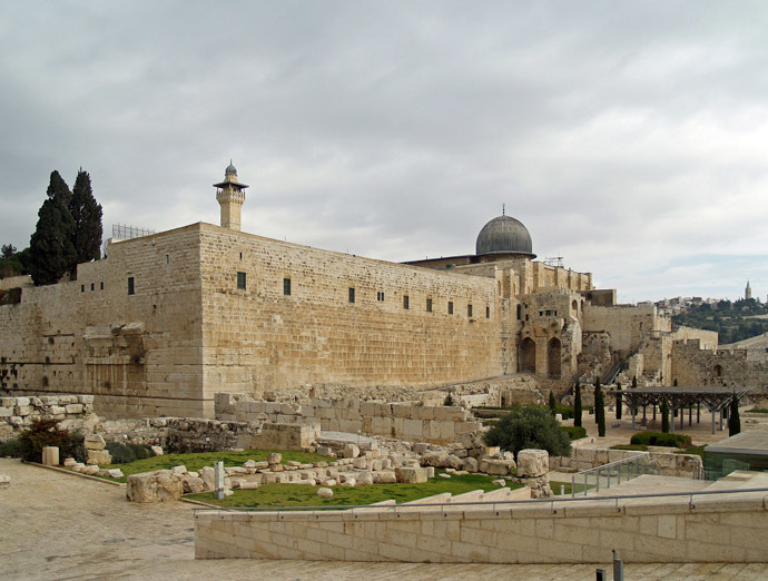 Al-Aqsa mosque (Photo from Wikipedia.org)
