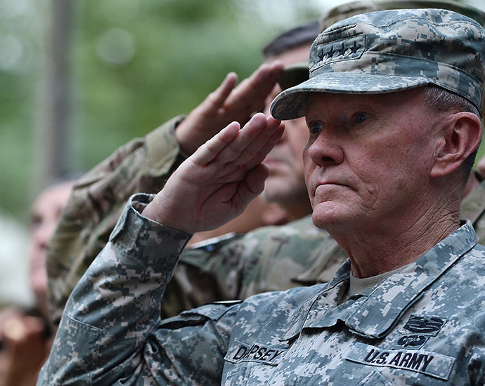 General Martin E. Dempsey. (AFP Photo/Shah Marai)