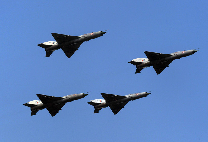 Indian Air Force of MIG 21FL fighter aircraft (AFP Photo)