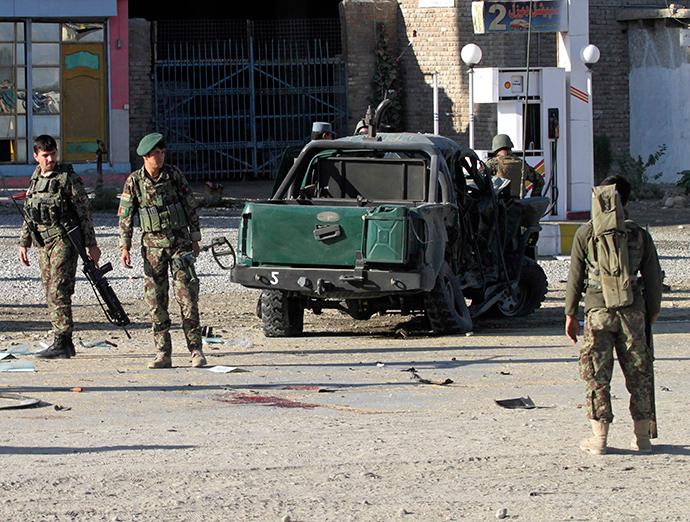Exército Nacional Afegão (ANA) soldados (Reuters / Parwiz)