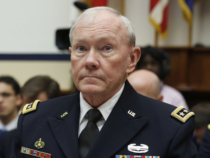 Chairman of the Joint Chiefs, U.S. Army General Martin Dempsey (Reuters)